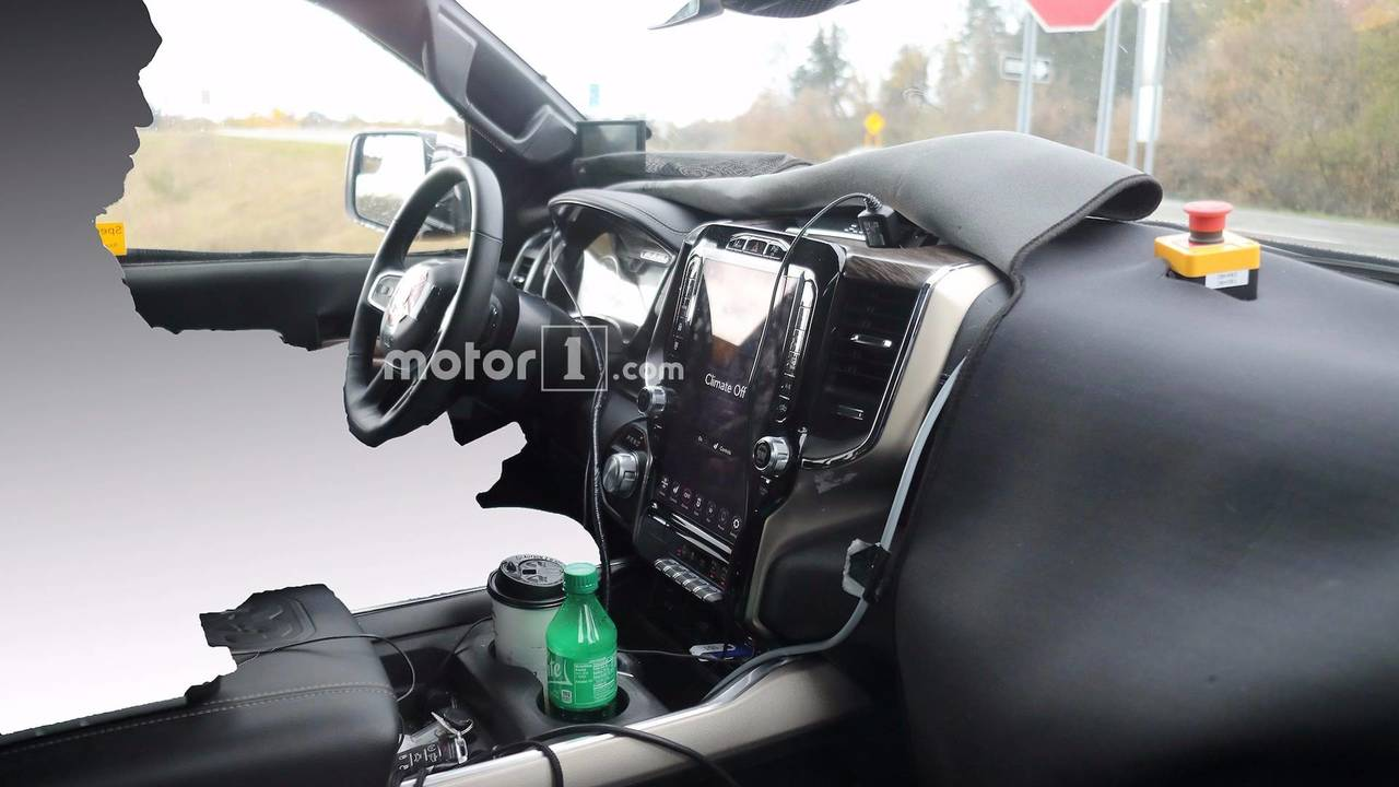 2019 Ram 1500 Interior Spy Photos