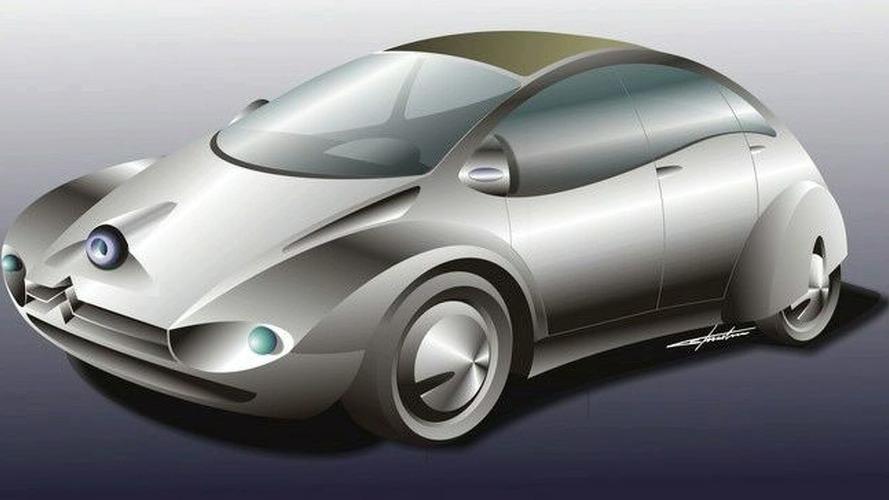 Artist Design:  Citroen 2CV Concept