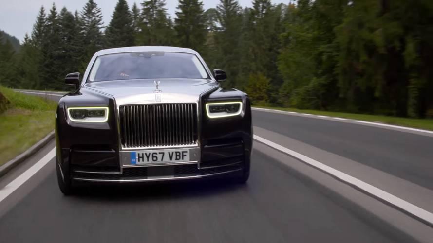 VIDÉO - La nouvelle Rolls-Royce Phantom se déhanche