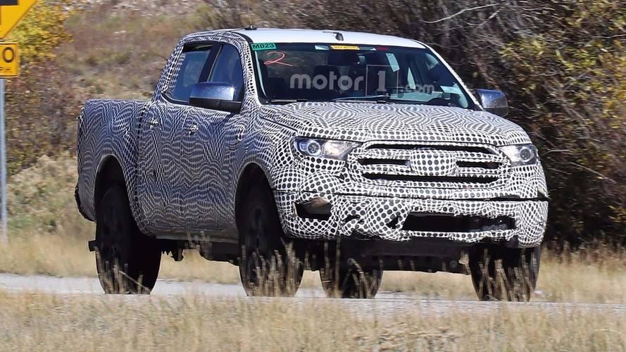 2019 Ford Ranger yakından görüntülendi