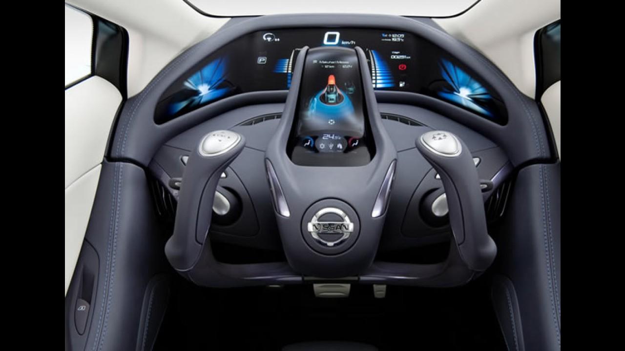 VÍDEO: Nissan Land Glider Concept 2009 é um carro que anda quase como moto