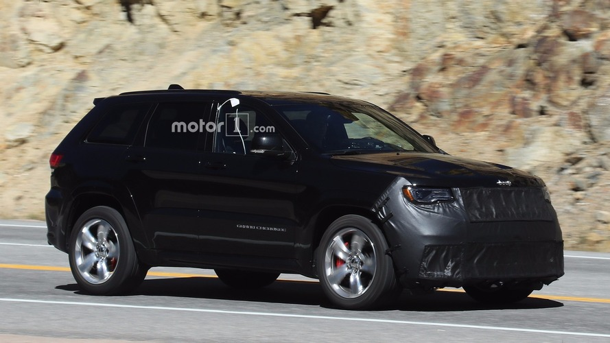 Jeep Grand Cherokee Trackhawk spied with beefy parts to handle 707 hp