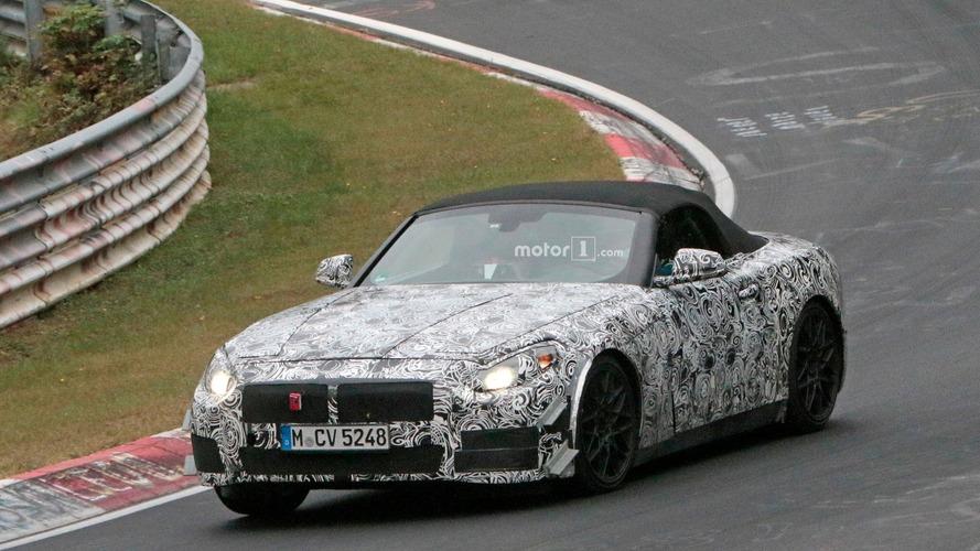 BMW Z5 makes Nürburgring debut and reveals interior