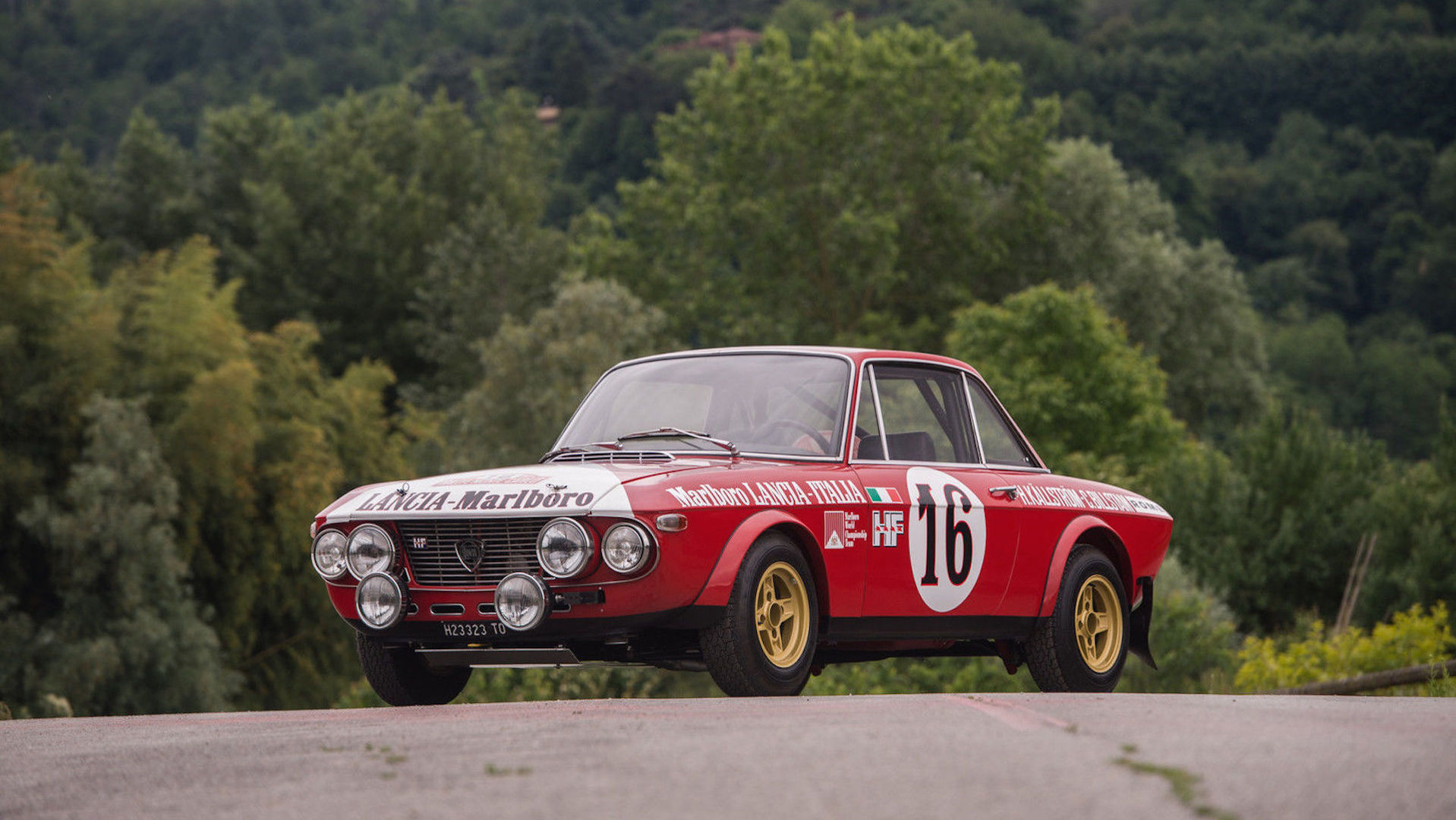 1970 Lancia Fulvia rally car for sale on eBay