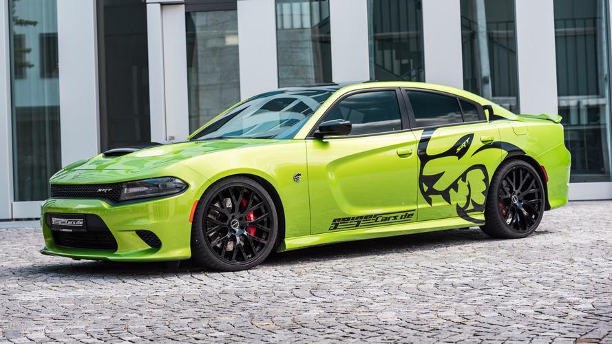 La Dodge Charger Hellcat poussée dans ses retranchements par GeigerCars