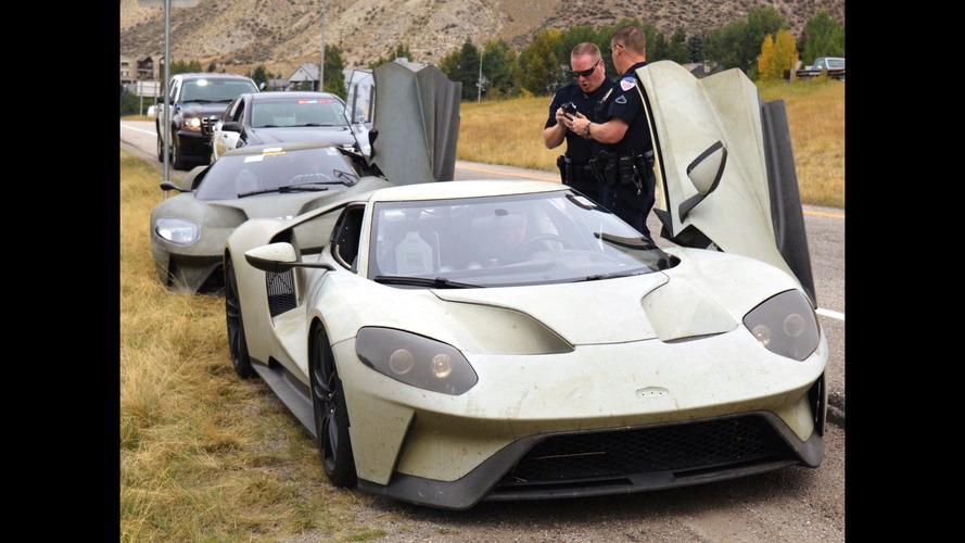 Üç Ford GT prototipi testler esnasında hız cezası yedi
