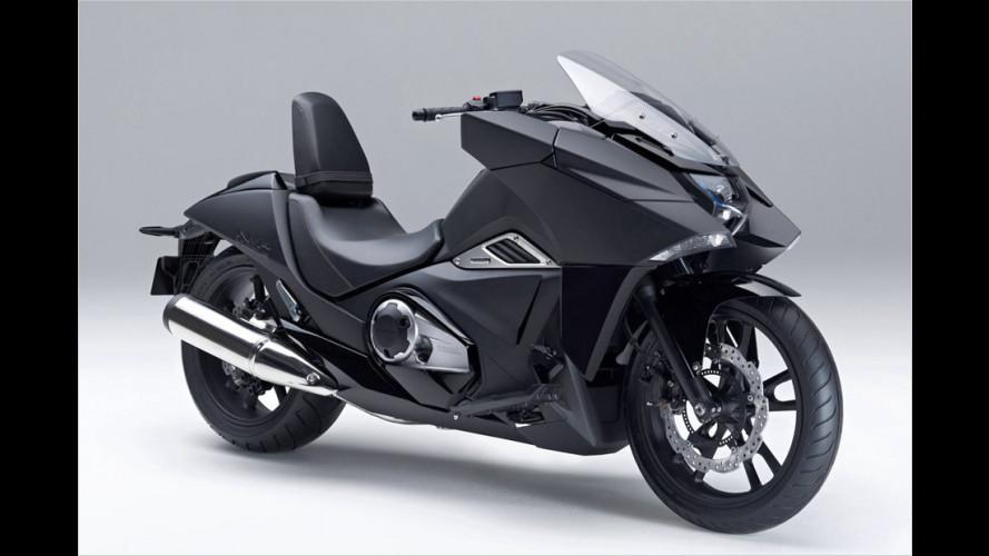 Designer-Bike im Stealth-Bomber-Stil