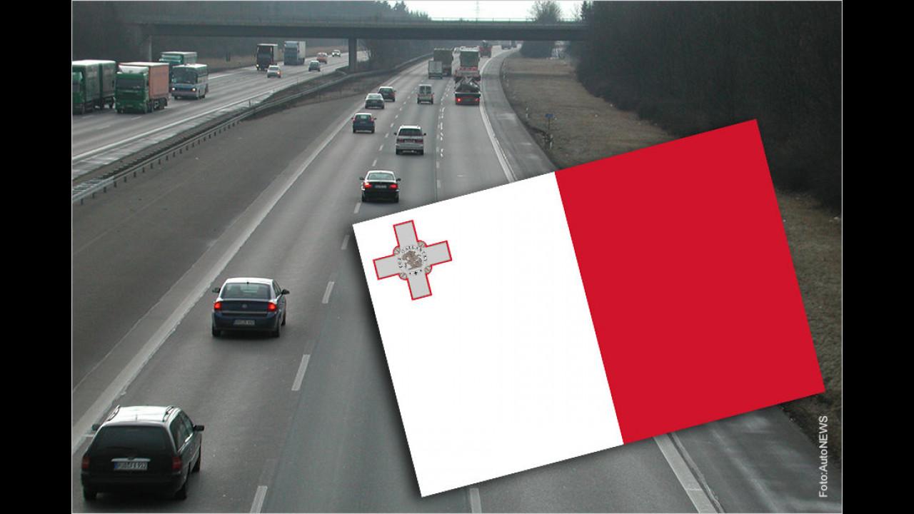 Malta und die Autobahn