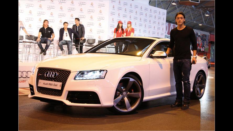 Neue Audis für Ronaldo, Özil und Co.
