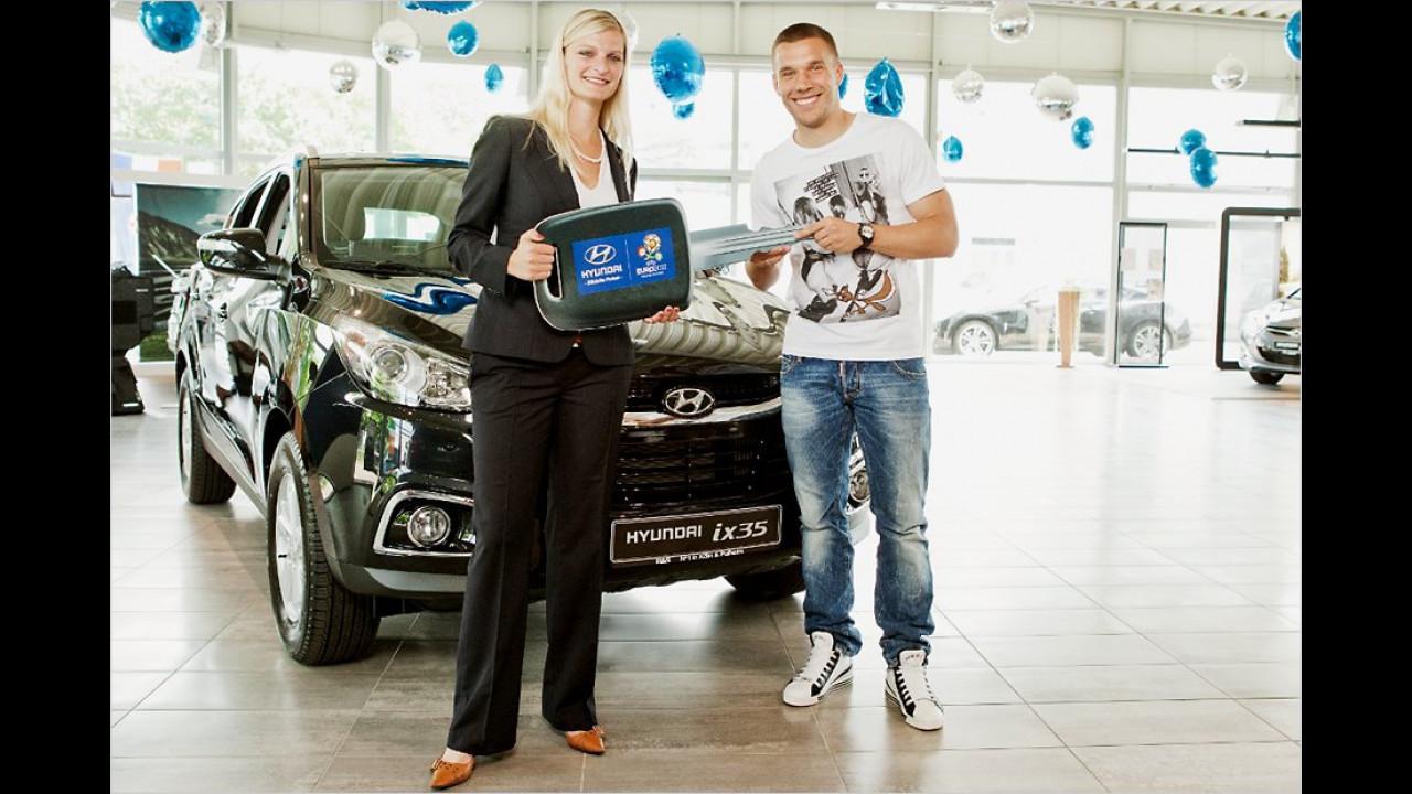 Lukas Podolski: Hyundai ix35