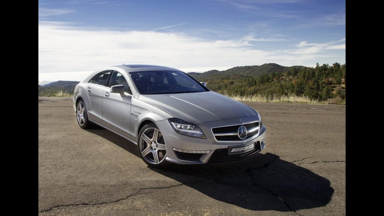 Mercedes divulga mais fotos e informações do Novo CLS63 AMG 2012 - Veja galeria