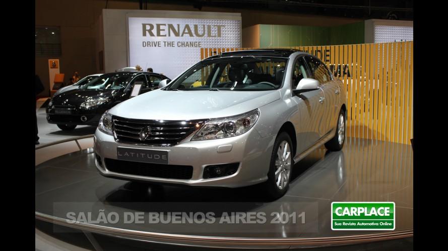 Salão de Buenos Aires: Novo Renault Latitude