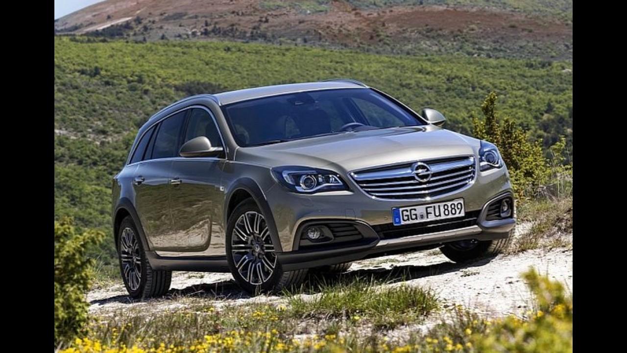 Galeria: Opel Insignia Country Tourer é perua aventureira só para a Europa