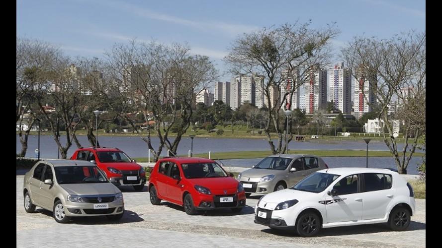 Renault comemora melhor desempenho histórico no Brasil
