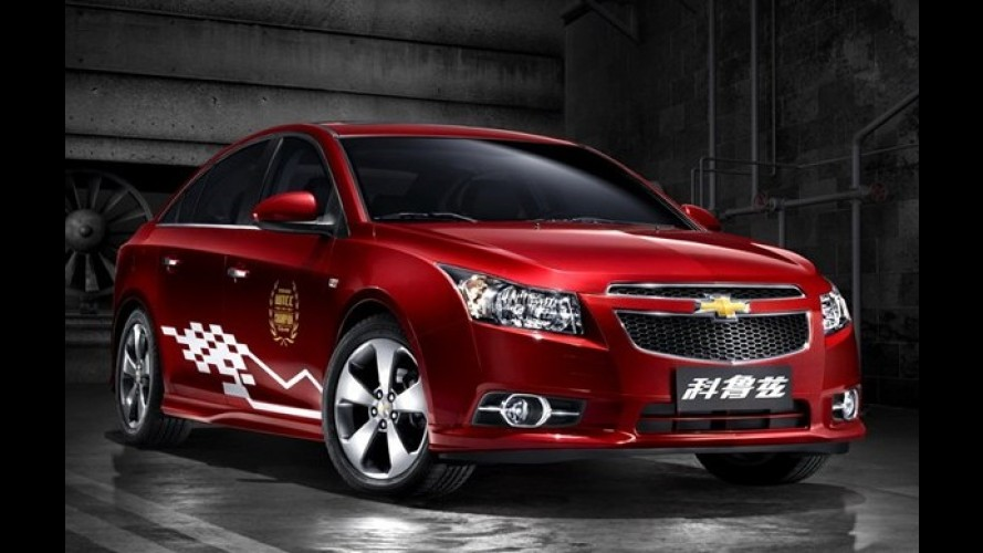 Chevrolet Cruze série especial WTCC Edition é apresentado na China