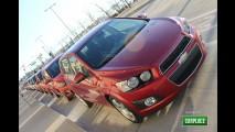 Chevrolet confirma lançamento do Sonic no Brasil em junho nas versões hatch e sedã
