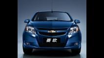 Novo Classic Chinês - GM  divulga as fotos oficiais do Novo Chevrolet Sail 2011