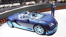 Bugatti Veyron Grand Sport Vitesse live in Geneva 06.03.2012