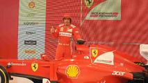 Ferrari F2012 live debut 03.02.2012
