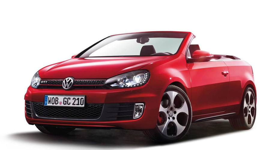 Volkswagen Golf Cabrio GTI pricing announced (UK)