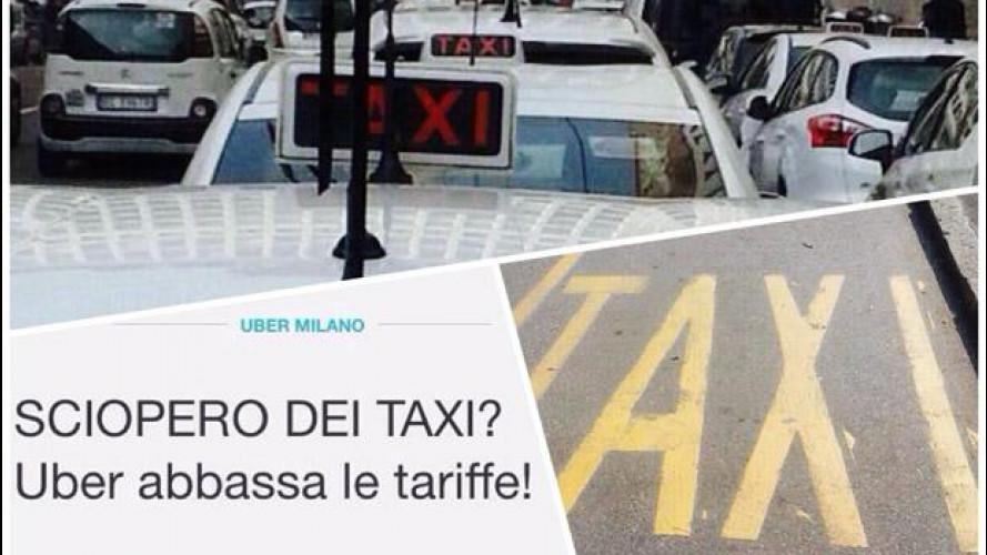 Taxi vs Uber: è scontro a Milano