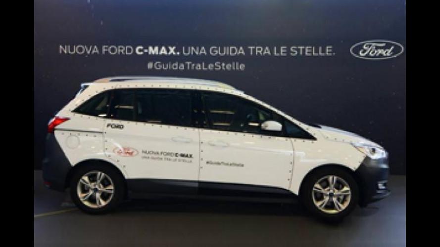 Ford C-Max, a Bimbinfiera si è trasformata in Shuttle