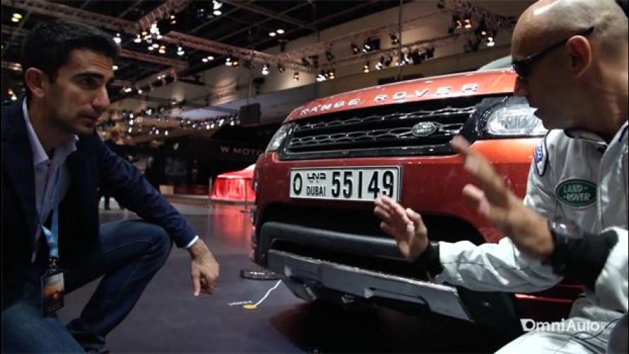 Range Rover Sport, l'emozione di guidare a tutto gas nel deserto [VIDEO]
