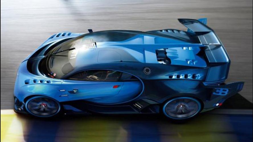 Bugatti Vision Gran Turismo, la