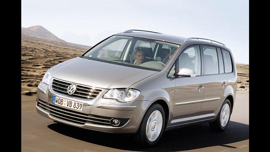 Premiere unterm Eiffelturm: VW enthüllt den 2007er-Touran