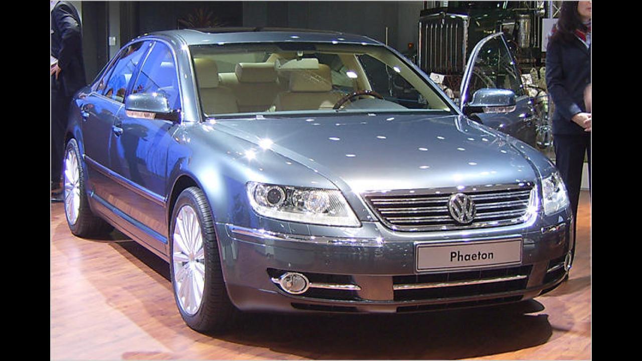 Kleinere Retuschen: VW Phaeton