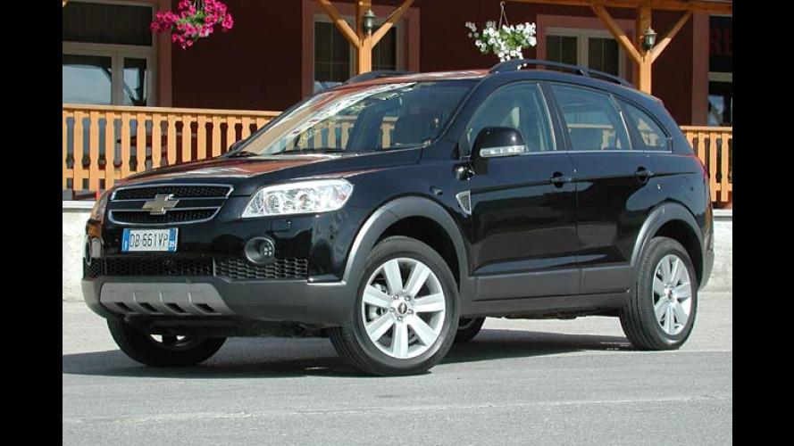 Chevrolet Captiva: Schnittiger Großkombi für schlechte Wege