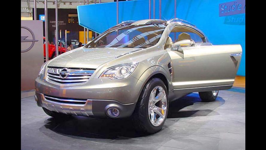 Opel-Studie Antara GTC: Sportlicher Frontera-Vorgeschmack