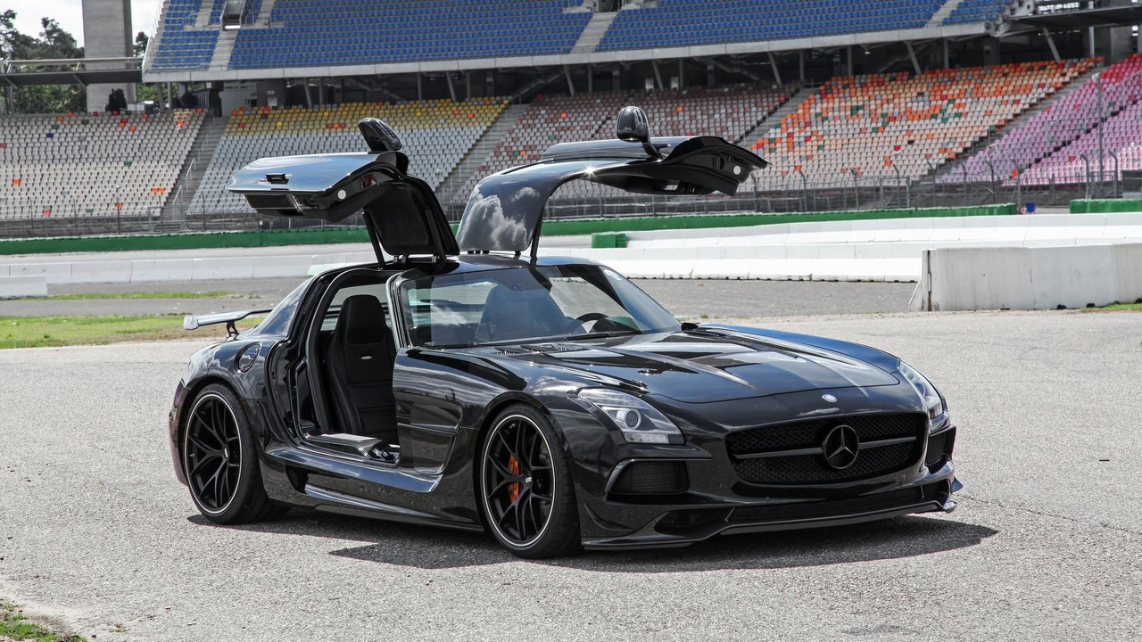 la mercedes sls amg revue et corrig e par inden design. Black Bedroom Furniture Sets. Home Design Ideas