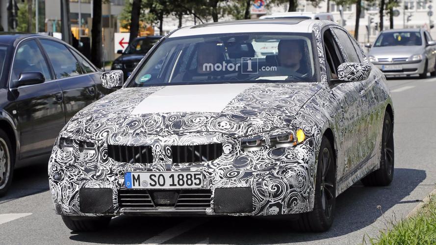 2018 BMW 3 Serisi seri üretim farlarıyla yakalandı