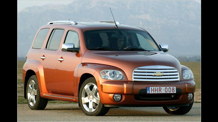 Chevrolet HHR: Ein Ami kommt vielleicht nach Deutschland