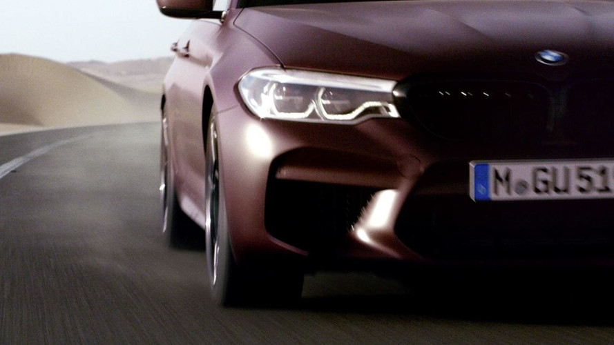 New BMW M5 Arrives August 21, Says Latest Teaser