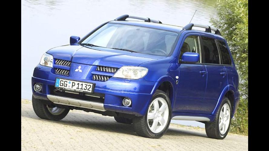 Mitsubishi Outlander Dakar: Sondermodell mit Sonderpreis