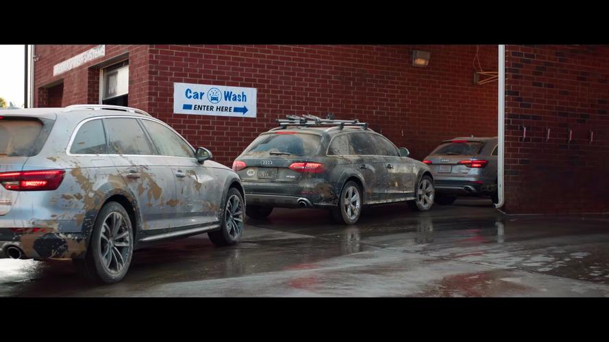 2017 Audi A4 Allroad reklamı