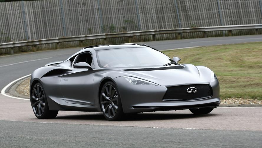 Infiniti serisine elektrikli bir spor otomobil eklenecek