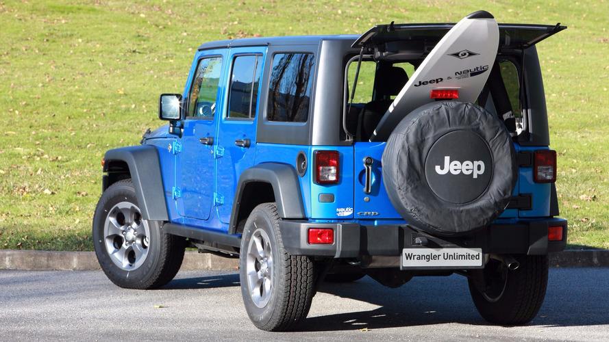 Jeep Wrangler - Une édition limitée pour surfeurs