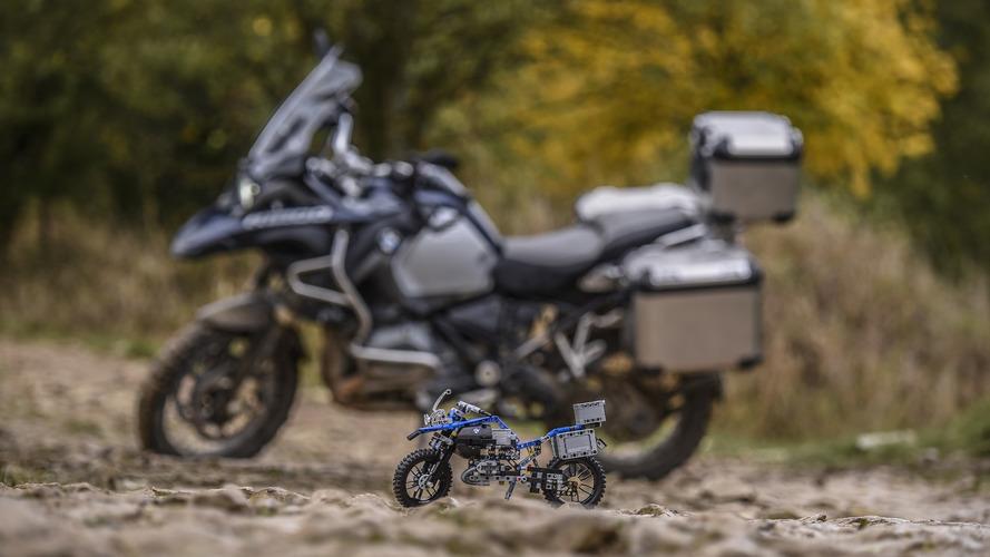 BMW R 1200 GS em Lego