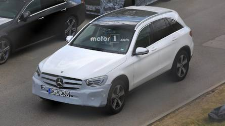 2019 Mercedes GLC Facelift Spied Inside And Out