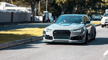 Aşırı Modifiyeli Audi RS6 Avant