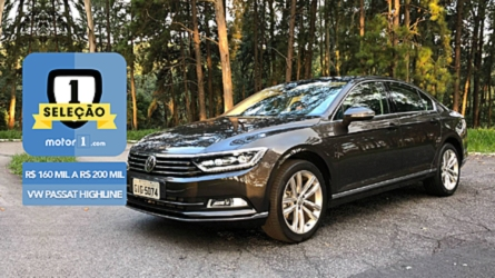 Seleção Motor1.com: VW Passat Highline vence categoria de R$ 160 mil a R$ 200 mil