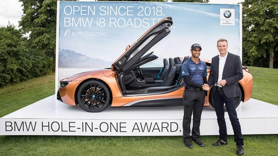 BMW i8 Roadster: premio hoyo en uno