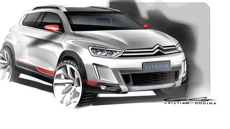 Mysterious Citroen crossover revealed in new sketches