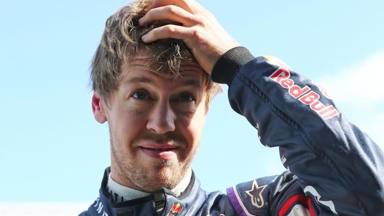 Sebastian Vettel 29.01.2014 Formula One Testing Jerez Spain