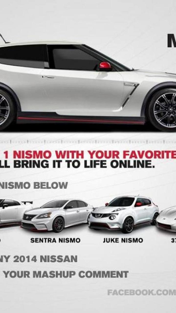NISMO MASHUP Facebook campaign