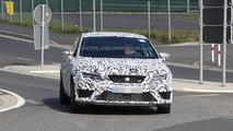 2014 Seat Leon Cupra prototype spied testing on Nurburgring