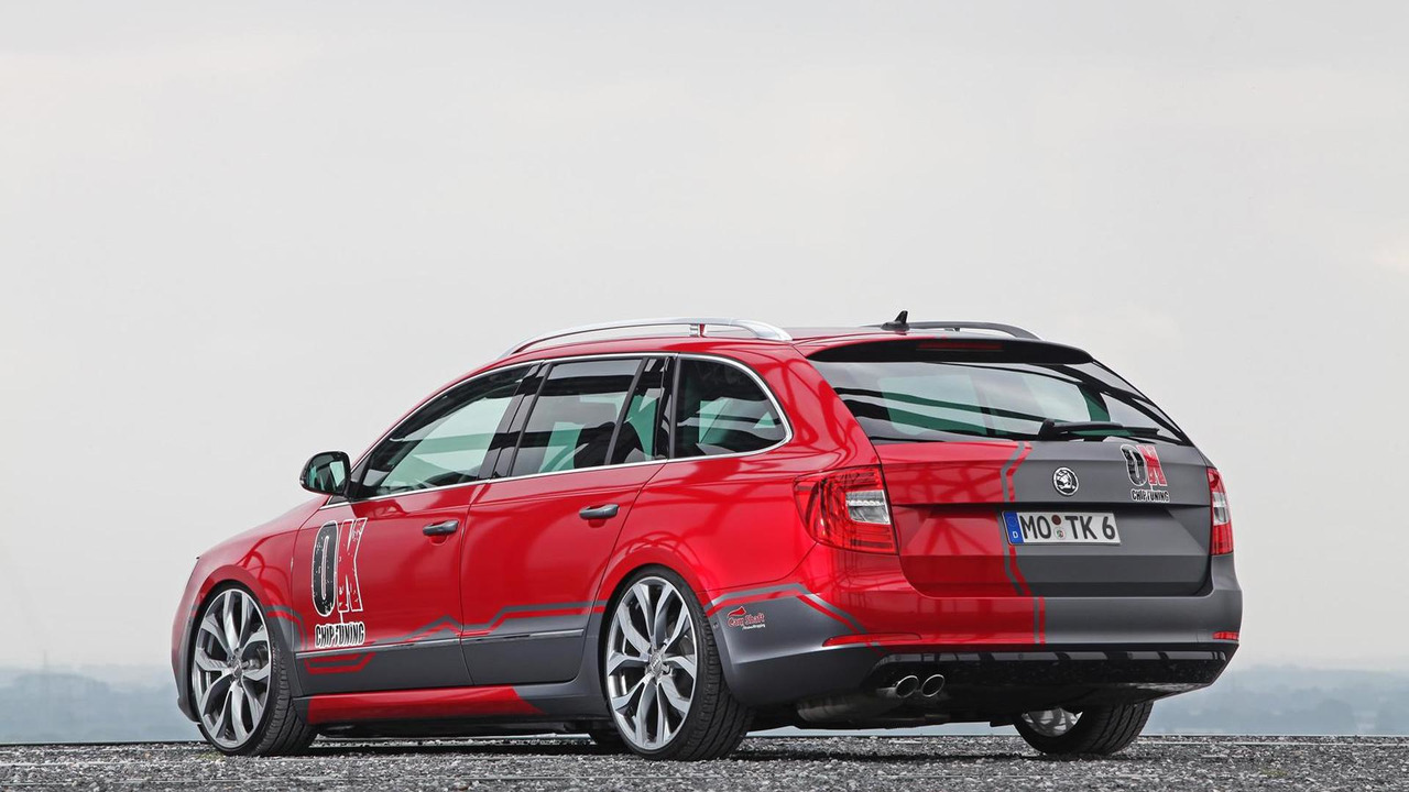 2013 Skoda Superb Estate facelift by OK-Chiptuning 27.09.2013